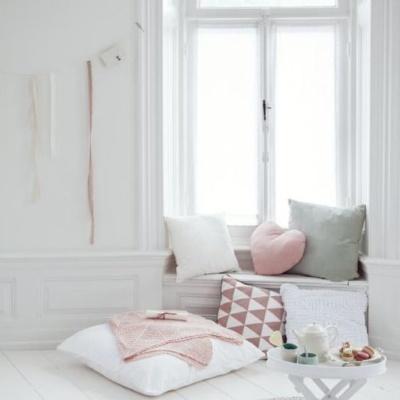 {Lieblinge im Februar} Tagestraum-Ecke in Weiß und Pastell