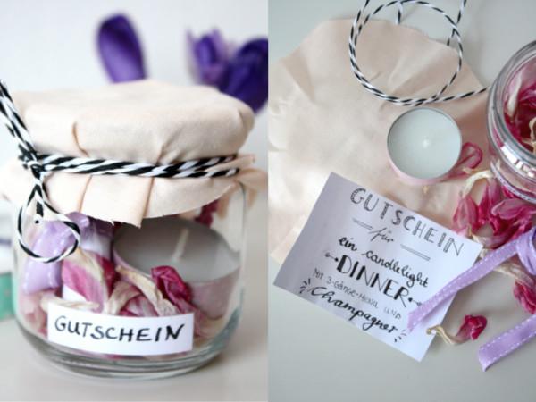 Gift Wrapping} 3 Ideen um Gutscheine zu verpacken - Rosy & Grey - DIY ...