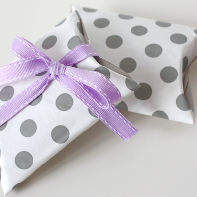 {Gift Wrapping} Klopapierrollen Upcycling