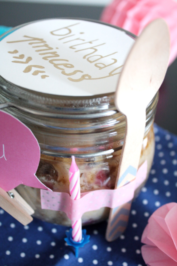 Geburtstagskuchen im Glas To Go 5