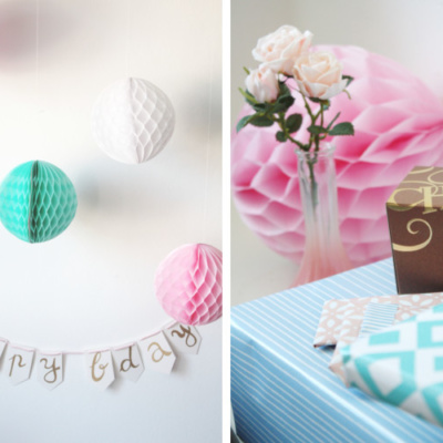 DIY: Happy-Birthday-Wimpelkette selber machen