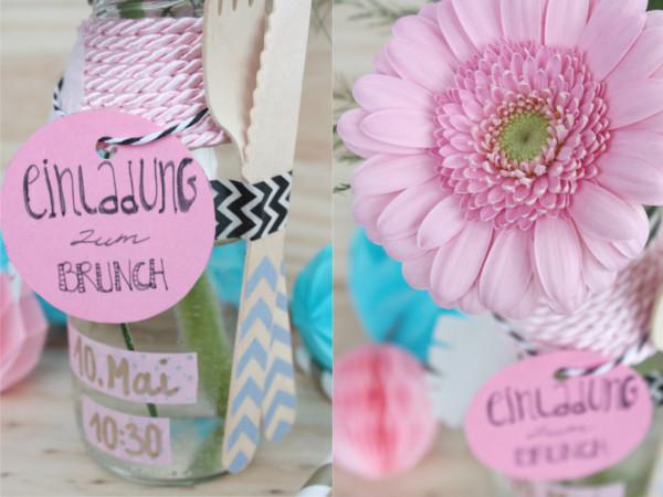 ... Muttertag Brunch Einladung In Der Flasche 9