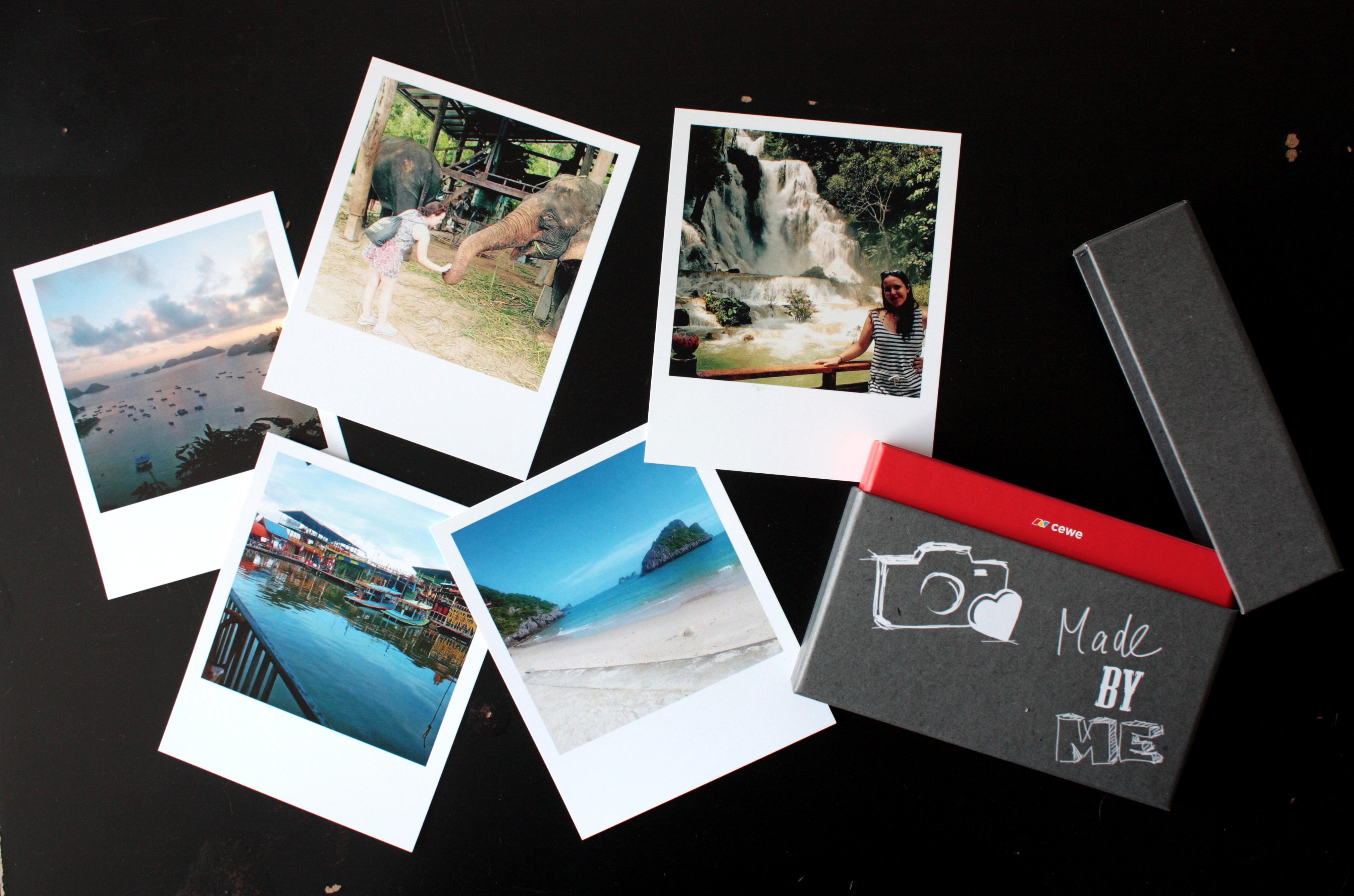 diy foto leporello im polaroid style rosy grey diy blog lettering m nchen. Black Bedroom Furniture Sets. Home Design Ideas
