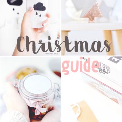 Christmas Guide: Die schönsten DIY Geschenke und Verpackungsideen für Weihnachten