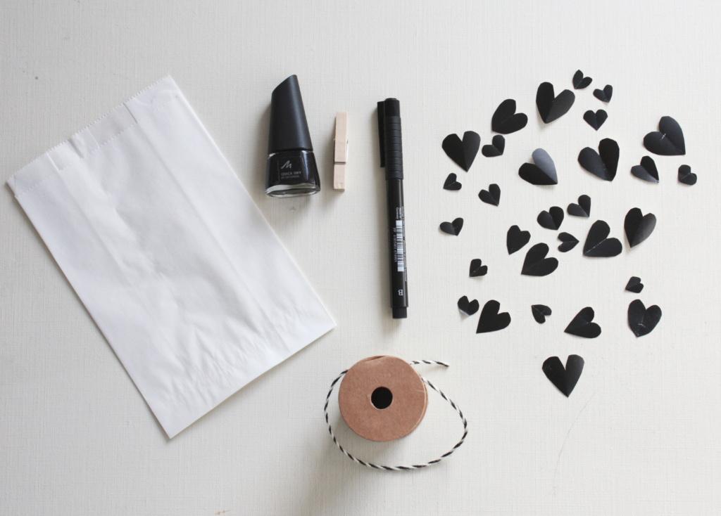 Gutschein verpacken zum Valentinstag 2