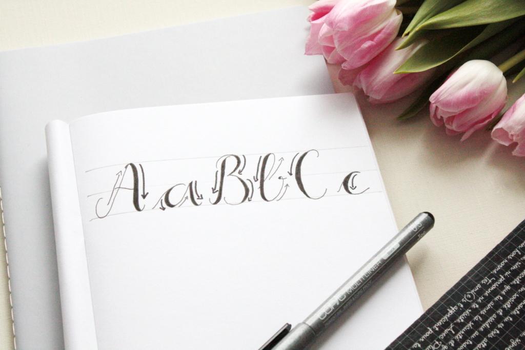 Handlettering Basics 2 Faux Calligraphy lernen 1