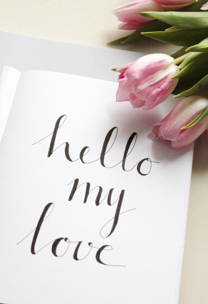 Handlettering Basics 2 Faux Calligraphy lernen 2