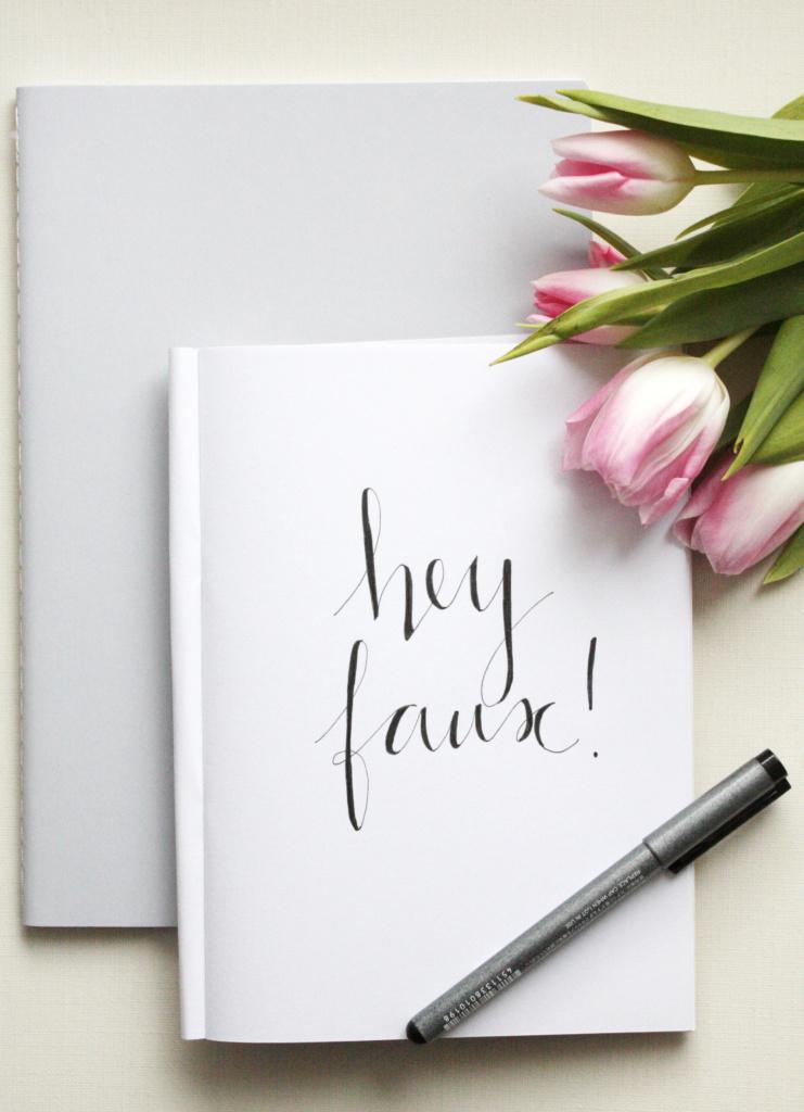 Handlettering Basics 2 Faux Calligraphy lernen 3