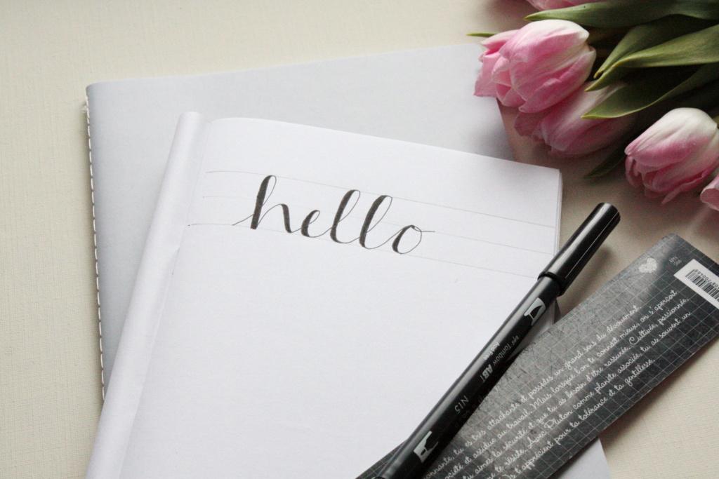 Handlettering Basics 2 Faux Calligraphy lernen 9