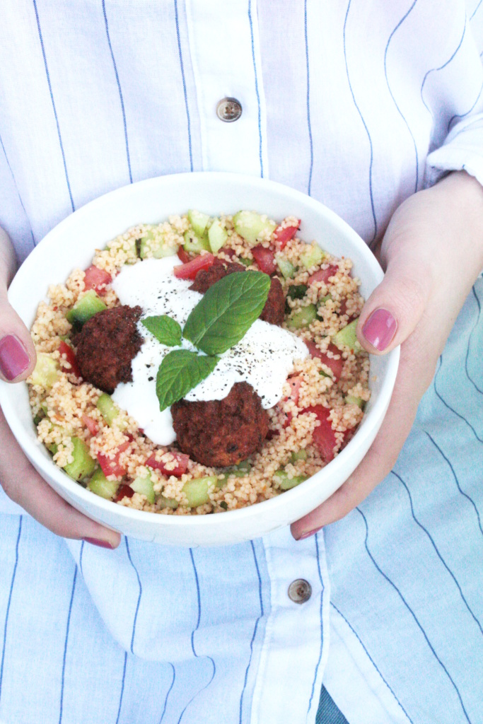 Quick Lunchbowl Couscous Salat Rezept 1