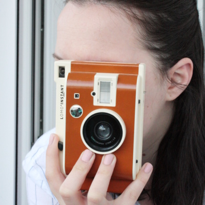 Geschenkidee: Polaroid Fotohalter basteln