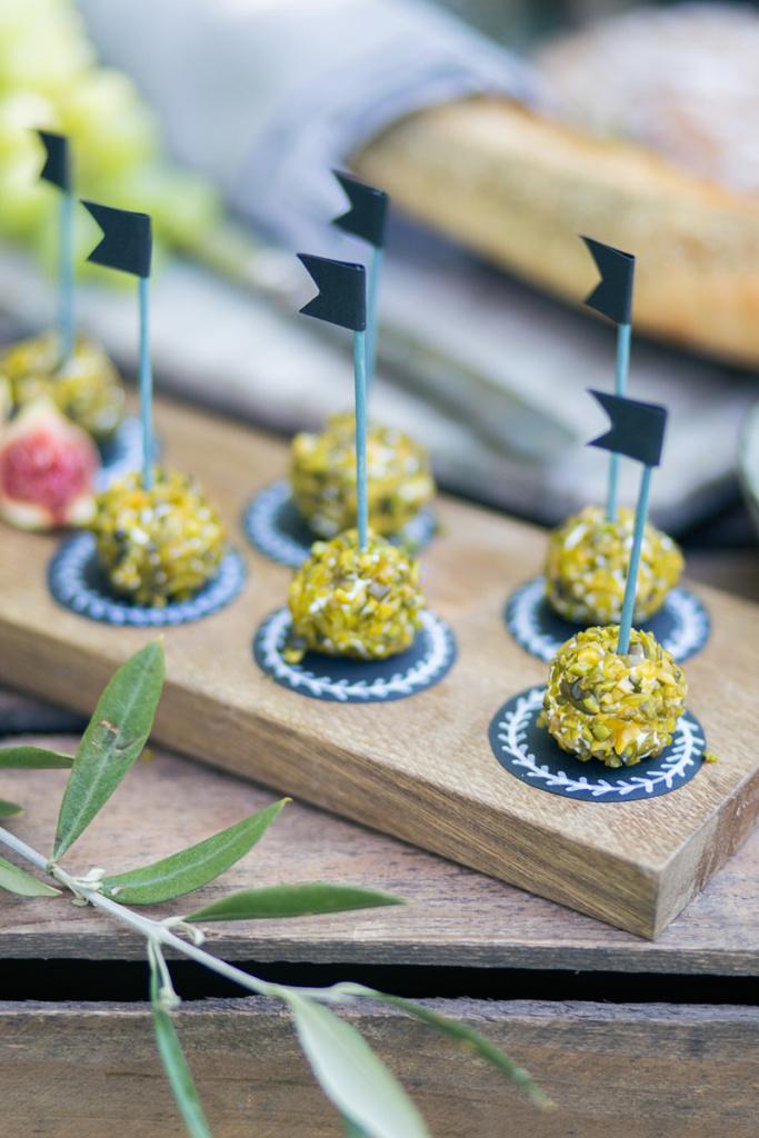DIY Cheesebar Dekoration
