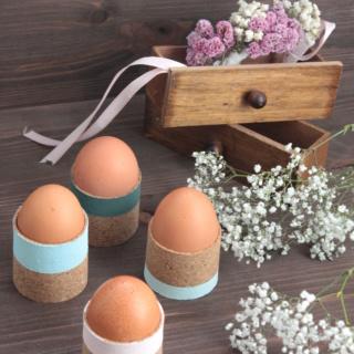 DIY Ostern: Eierbecher selbermachen