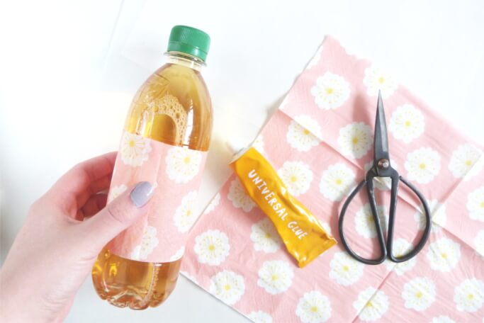 Flasche selbst gestalten DIY Blog basteln selbermachen