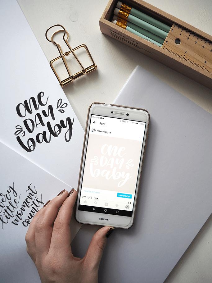 Handletterings digitalisieren Lettering Studio München