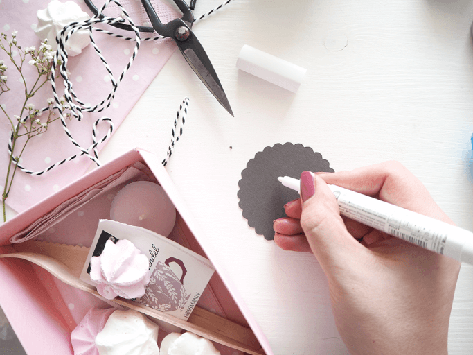 DIY Brunch Einladung in der Box selbermachen