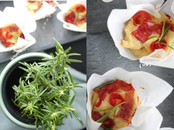 Herzhafte Muffins Tomaten Parmesan 8
