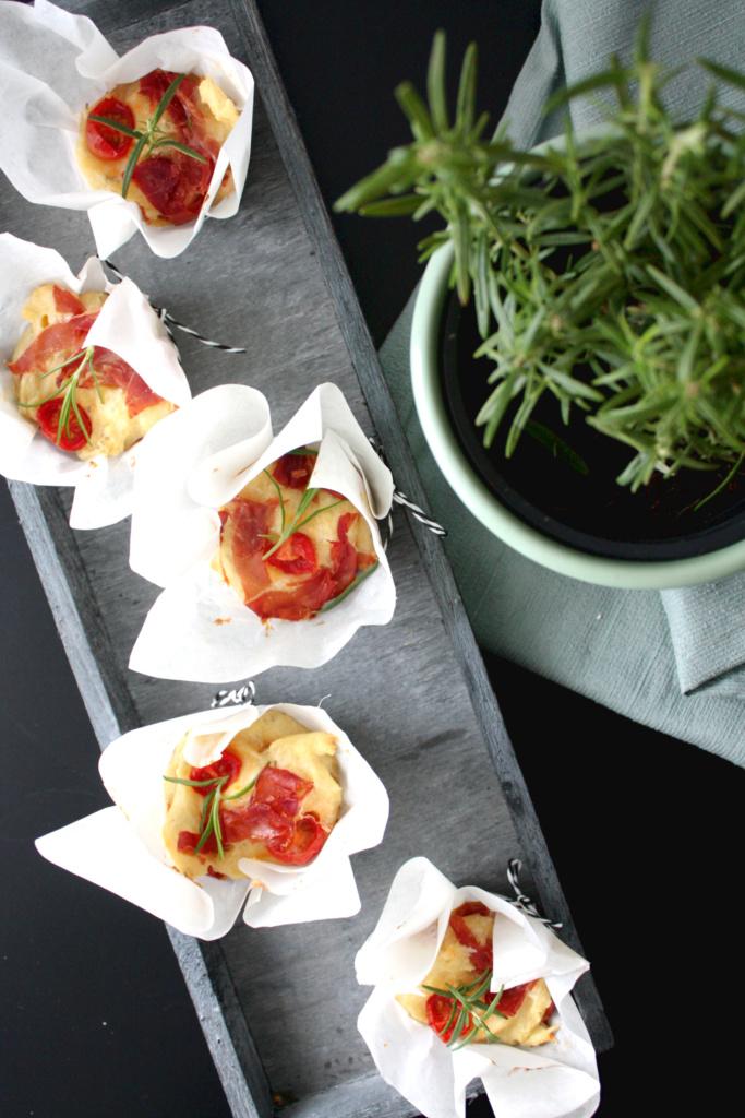Herzhafte Muffins tomaten Parmesan 5