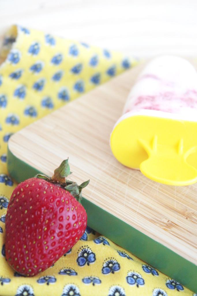 Joghurt Erdbeer Popsicles 3