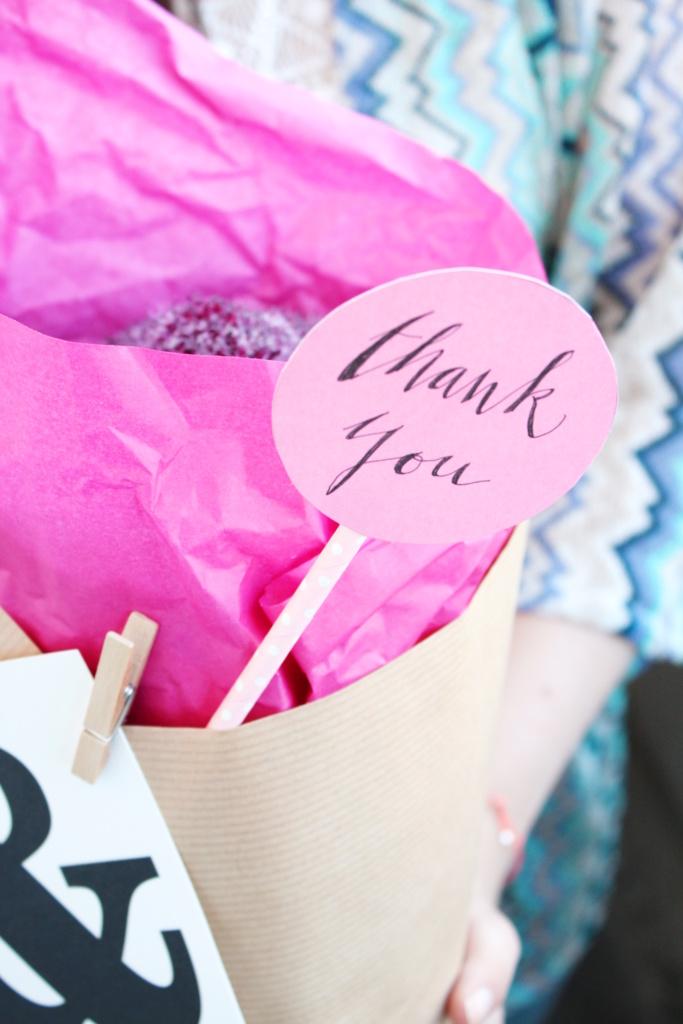 Blumen verpacken Geschenkidee 1