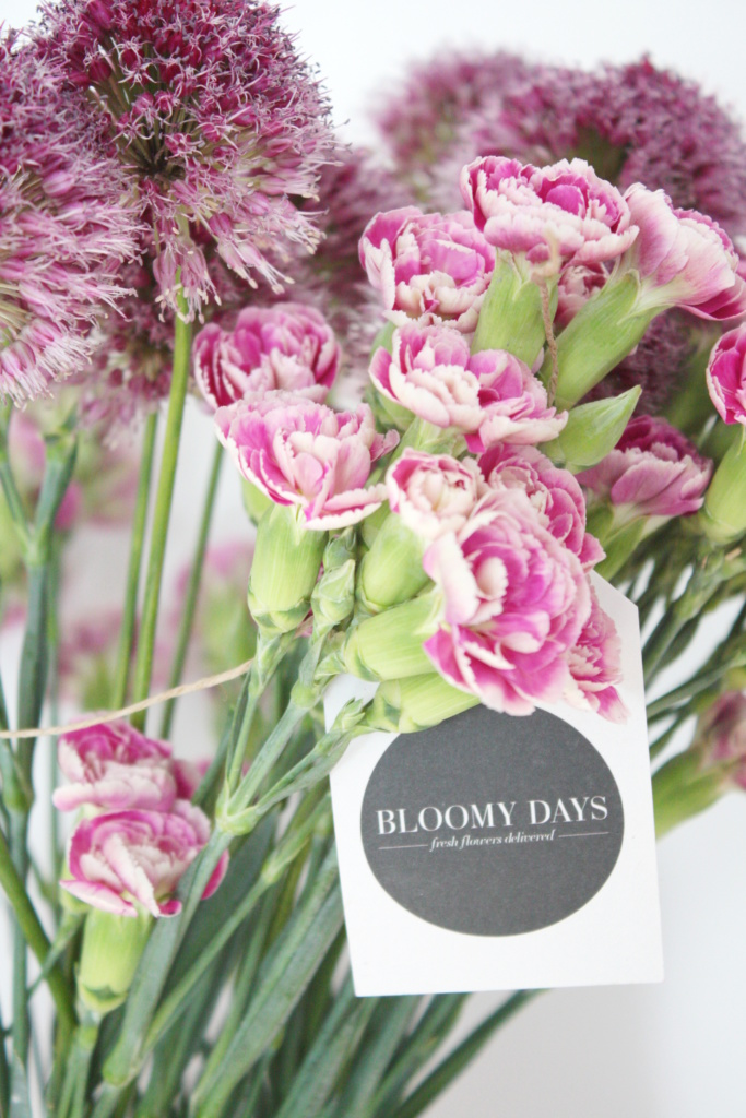 Blumen verpacken Geschenkidee 6