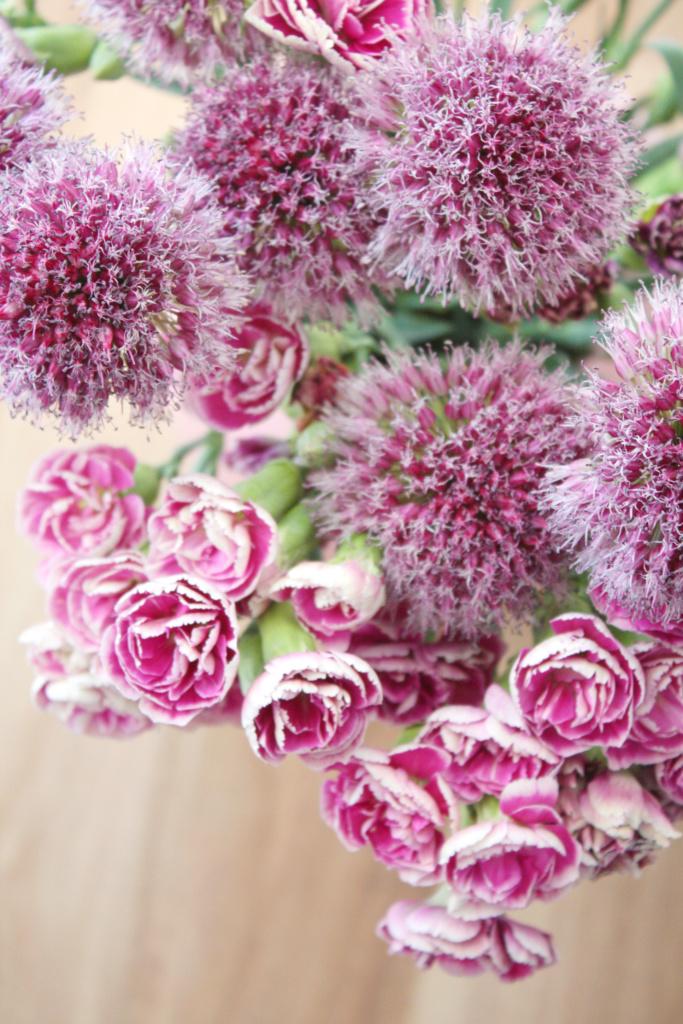Blumen verpacken Geschenkidee 8