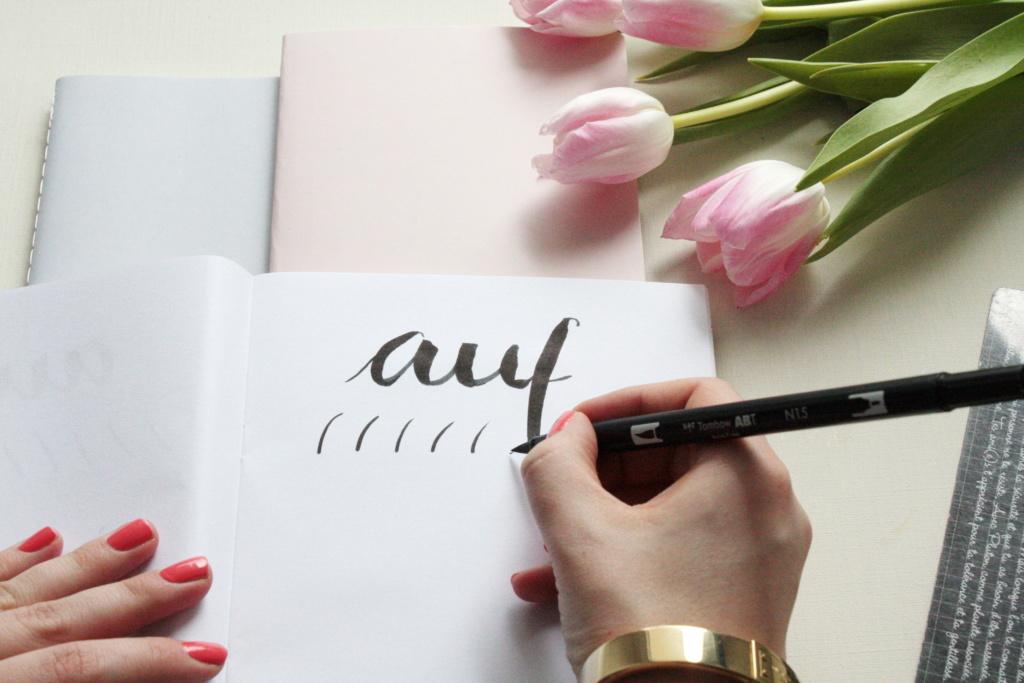 Handlettering Basics 2 Brush Lettering 2