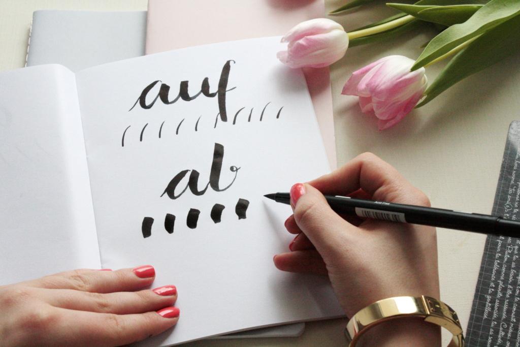 Handlettering Basics 2 Brush Lettering 3