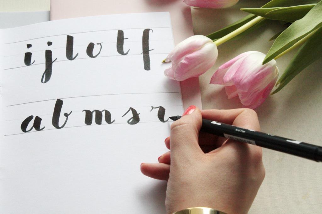 Handlettering Basics 2 Brush Lettering 6