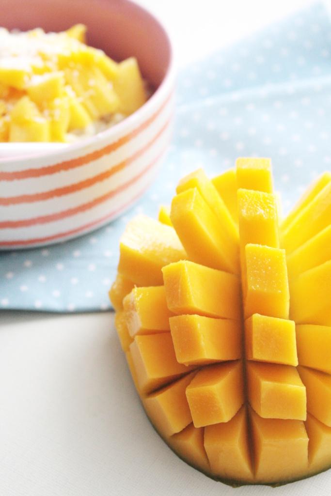 Mango Kokos Porridge Rezept 4