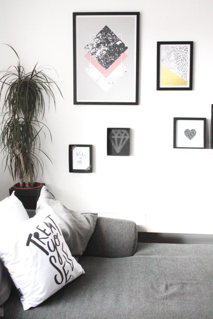 Wohnzimmer Wanddeko 10