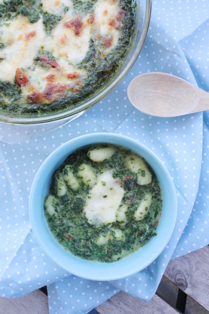 Gnocchi Spinat Auflauf 5