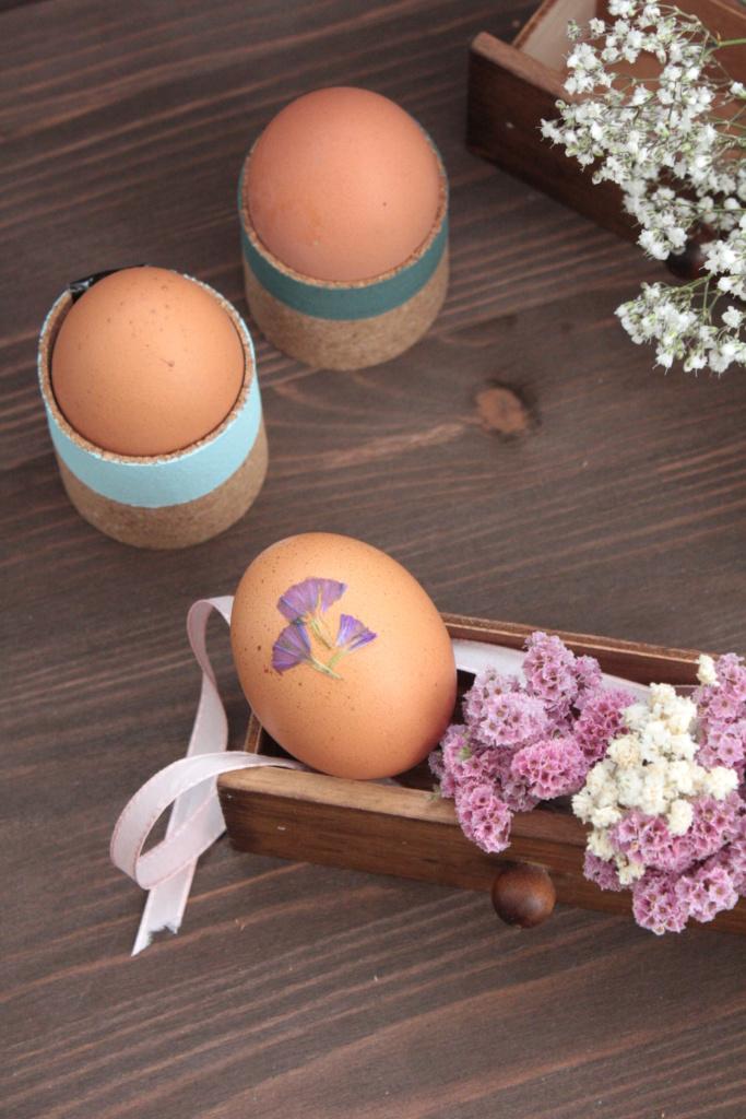 DIY Ostern Eierbecher selbermachen
