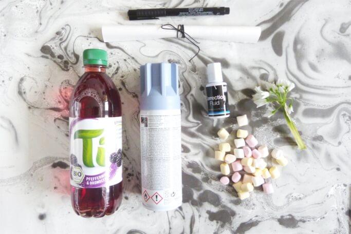 Geschenk zum Muttertag Flaschenpost selbermachen