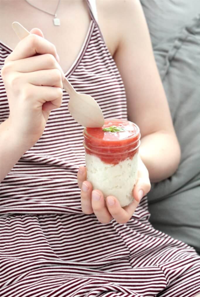 Kokos Grießbrei Rezept DIY Blog Muenchen Basteln Selbermachen