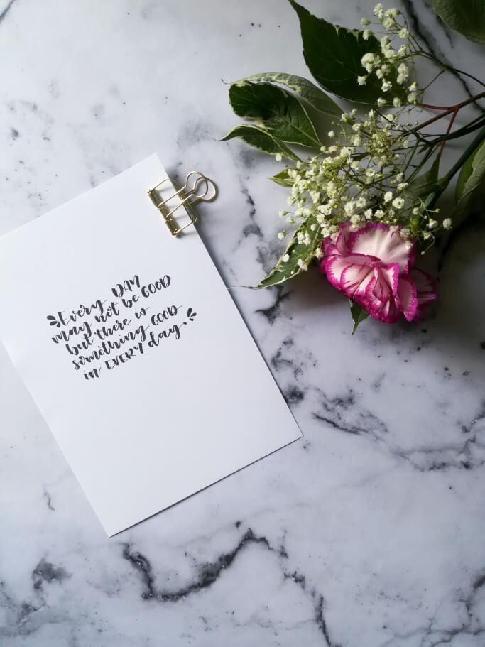 DIY Blog Lettering und Aquarell lernen Handlettering
