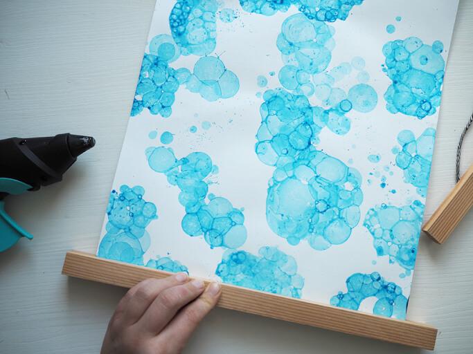 DIY Bubble Bild Posterleiste Selbermachen DIY Blog München