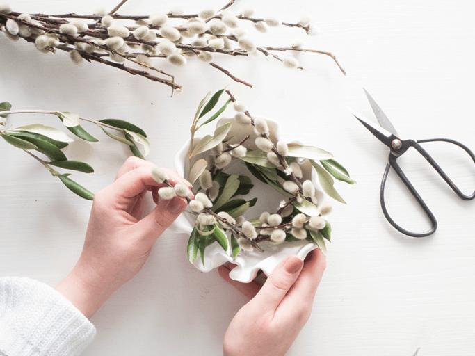 DIY Osternest aus Fimo im skandinavischen Stil DIY Blog