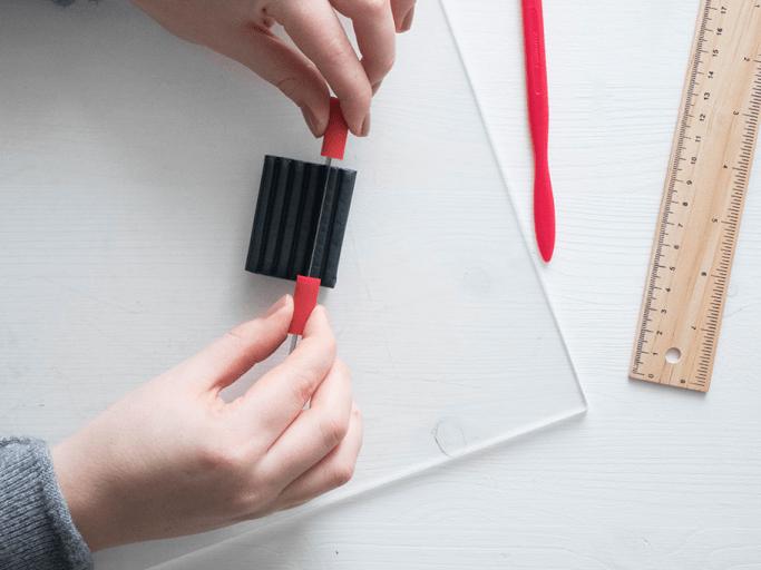 Eierbecher aus Fimo selbermachen DIY Blog München