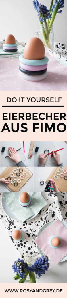 DIY Eierbecher aus Fimo